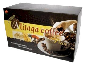 อาลีจาก้า คอฟฟี่ พลัส (Alijaga Coffee Plus) กาแฟผสมโสม ตังกุย เห็ดหลินจือ