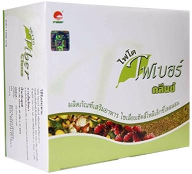 ไฟโต ไฟเบอร์ คลีนซ์ (Phyto Fiber Clenz)ของแท้กล่องภาษาไทยสีเขียว ดีท็อกซ์ (Detox) ล้างลำไส้ด้วยใยอาหารธรรมชาติ 100%